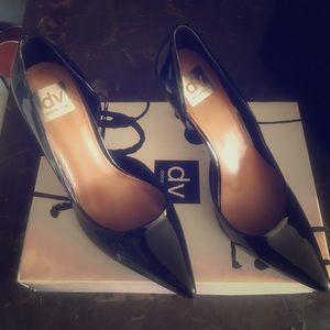 Black 4inch heels